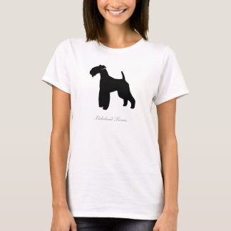 Lakeland Terrier T-shirt (black silhouette)