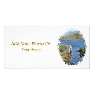 LAKES AND VIEWS WALES CUSTOM PHOTO CARD