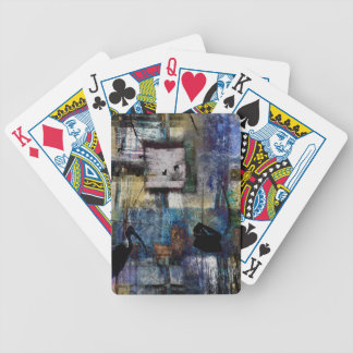 Lakeshore at Dawn Bicycle Playing Cards