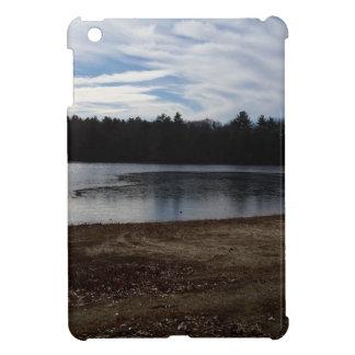 Lakeside in the Fall Cover For The iPad Mini