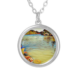 Lakeside St Joseph Silver Plated Necklace