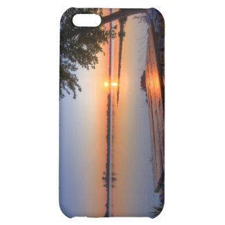 Lakeside Sunset iPhone 5C Case
