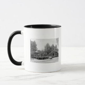 Lakeside village at the Universal Exhibition Mug