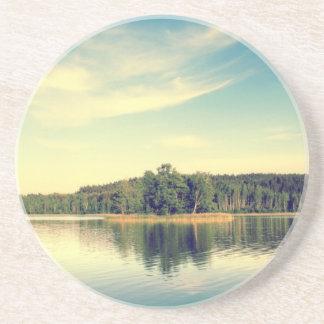 Lakeside Vintage Tree Line Coaster