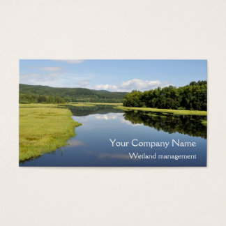 Lakeside wetlands business card
