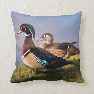 Lakeside, Wood Duck Cushion