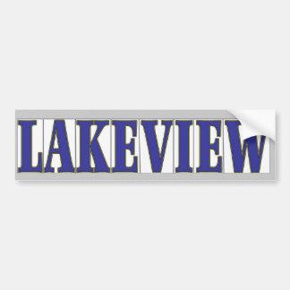 LAKEVIEW BUMPER STICKER
