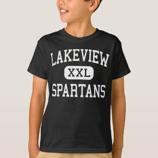 Lakeview - Spartans - High - Battle Creek Michigan T-Shirt