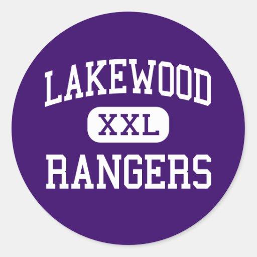 Lakewood - Rangers - High School - Lakewood Ohio Sticker