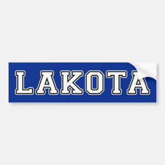 Lakota Bumper Sticker
