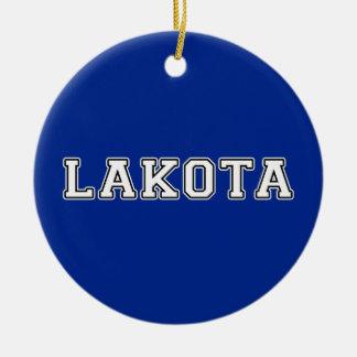 Lakota Ceramic Ornament
