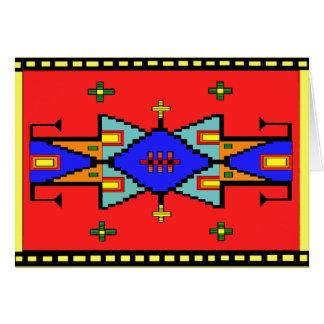 Lakota Dreams Blanket Design Card
