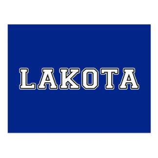 Lakota Postcard