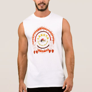 LAKOTA SIOUX SLEEVELESS SHIRT