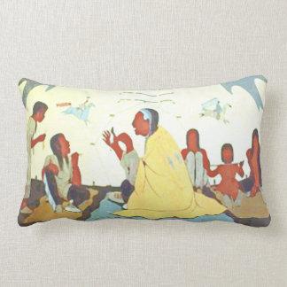 Lakota Storyteller lumbar pillow