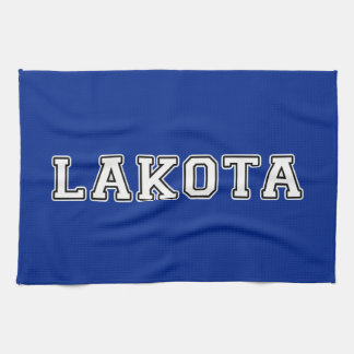 Lakota Tea Towel