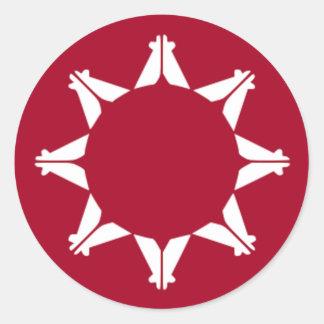 Lakota Tribe Classic Round Sticker