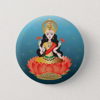 Lakshmi 6 Cm Round Badge