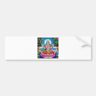 Lakshmi Goddess of Love, Prosperity, and Wealth Bumper Sticker