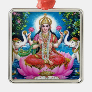 Lakshmi Goddess of Love, Prosperity, and Wealth Metal Ornament