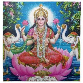 Lakshmi Goddess of Love, Prosperity, and Wealth Napkin