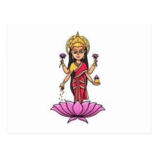 Lakshmi Postcard