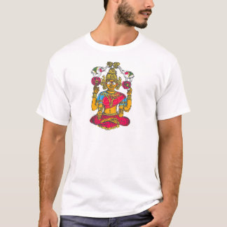 Lakshmi / Shridebi in Meditation Pose T-Shirt