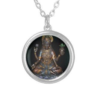 Lakshmi Silver Plated Necklace