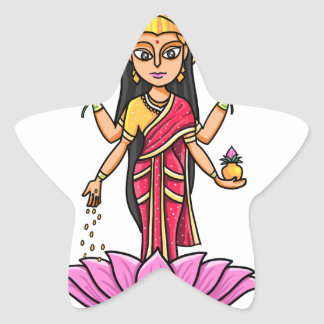 Lakshmi Star Sticker