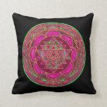 Lakshmi Yantra Mandala Pillow Cushions