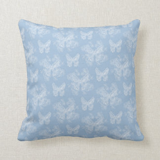 Lalabutterfly Wedgewood Blue Cushion
