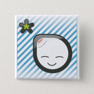 lalamoongirl 15 cm square badge