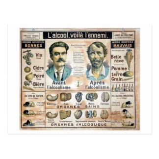 L'Alcool Voila l'Ennemi #1 Postcard