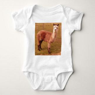 lama baby bodysuit