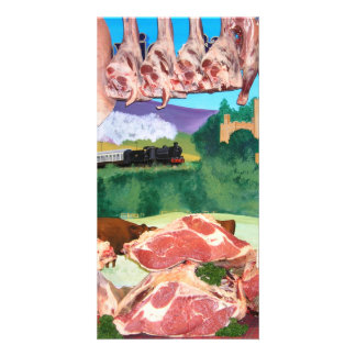 lamb and beef photo cards