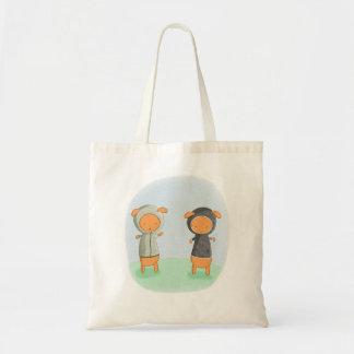 Lamb Carrot Canvas Bag