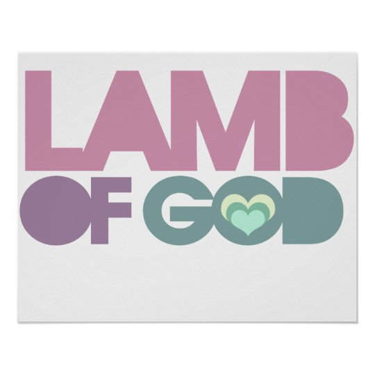 Lamb of God Poster