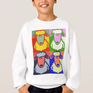 Lamb Pop Art Sweatshirt