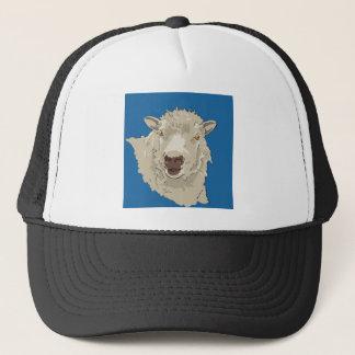 Lamb Trucker Hat