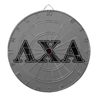 Lambda Chi Alpha Black Letters Dartboard