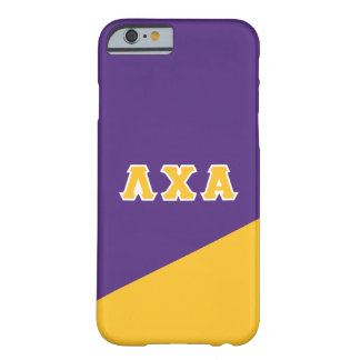 Lambda Chi Alpha | Greek Letters Barely There iPhone 6 Case