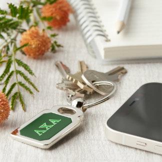 Lambda Chi Alpha Green Letters Key Ring