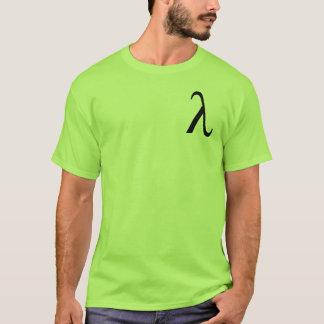 Lambda (small logo) men's t-shirt