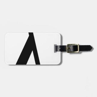 lambda Symbol Luggage Tag