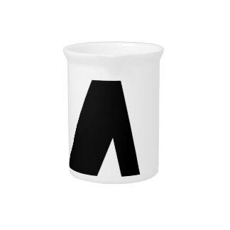 lambda Symbol Pitcher