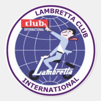 Lambretta Club International Sticker Set of 6