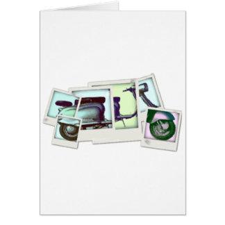 lambretta photo montage card