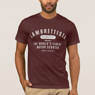 Lambrettista Blog T-Shirt: Truffle T-Shirt