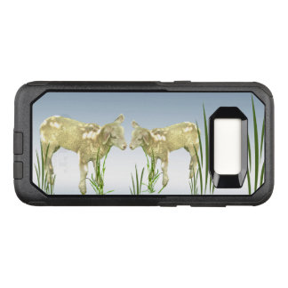 Lambs with Green Grass OtterBox Galaxy S8 Case