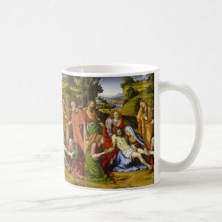 Lamentation by Andrea Solario Coffee Mug
